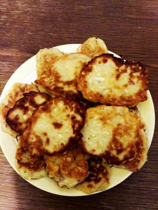 """Яблочные """"ДРАНИКИ"""" - вкусный завтрак для всей семьи!"""