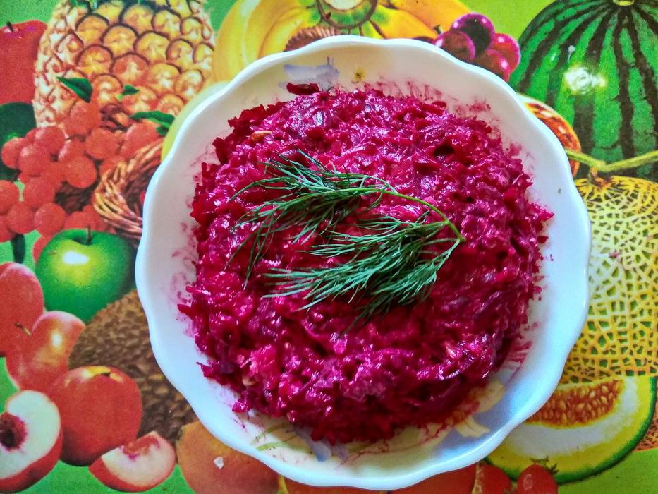 Салат со свеклой «Белорусский еврей»