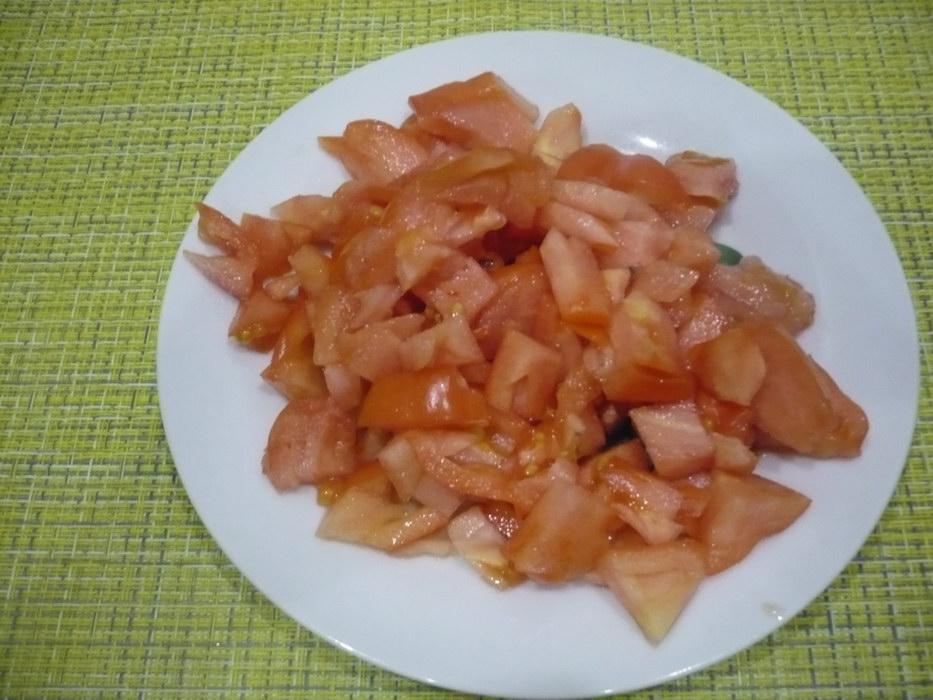 Нарежем помидоры