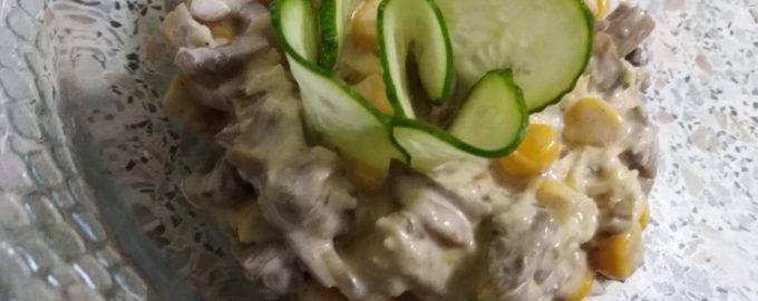 Салат «Пандора» — вкусный рецепт в копилку «на скорую руку»