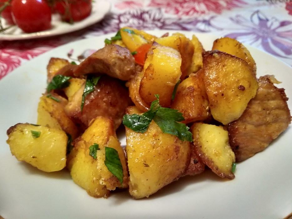 Оджахури грузинское блюдо