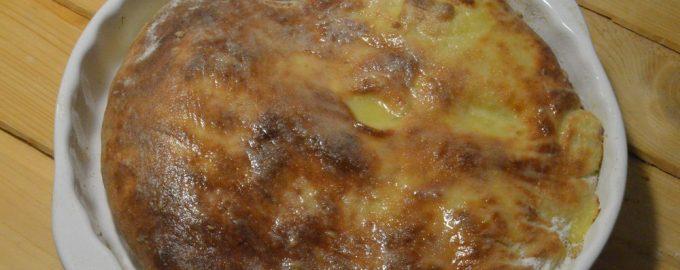 Осетинский пирог с картошкой
