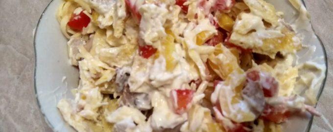 Восточный салат «Шахерезада» со сказочным вкусом