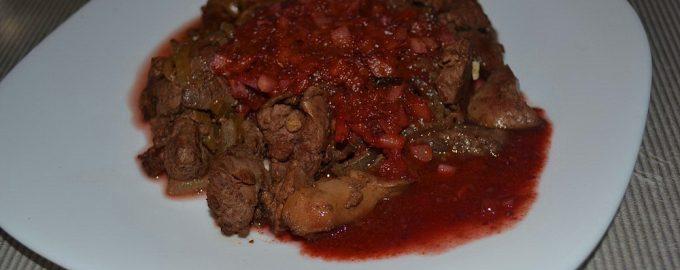 Куриная печень с виноградным соусом – вкусно, полезно и необычно