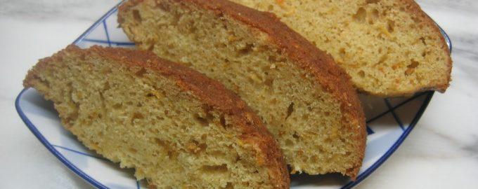 Апельсиновый кекс по классическому рецепту