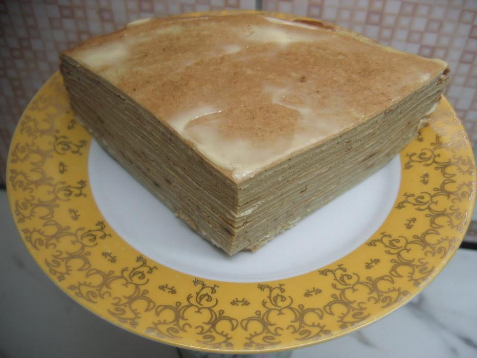 Торт из утиной печени