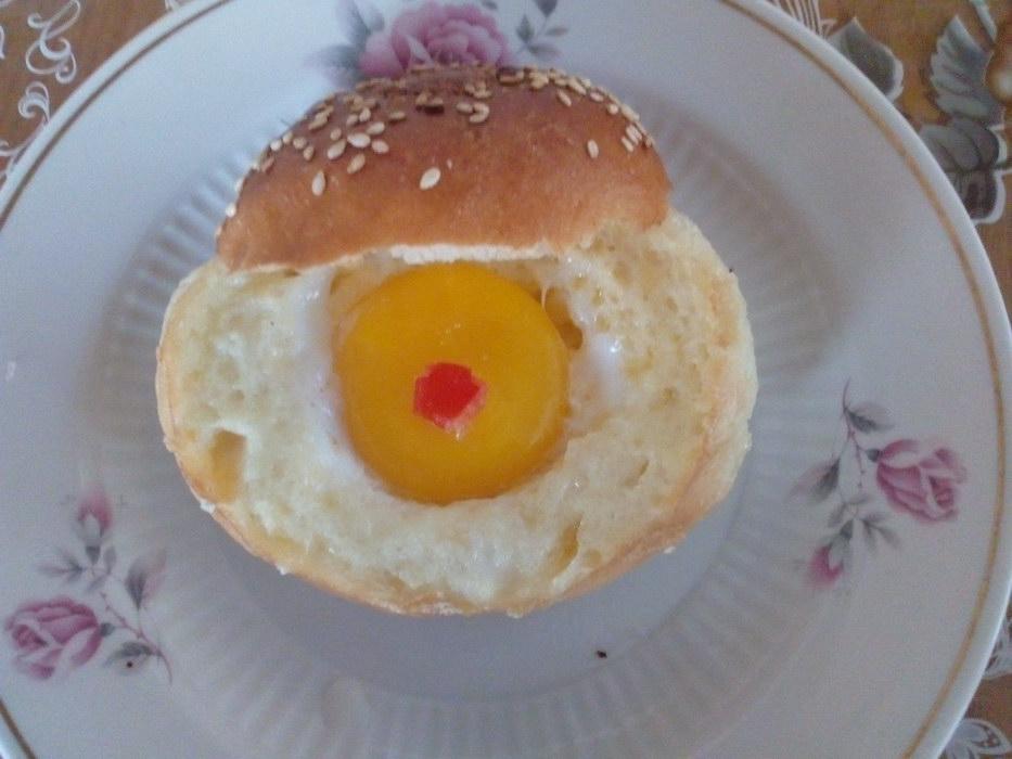 Яичница «Бычий глаз» - сказка на завтрак от бабушки