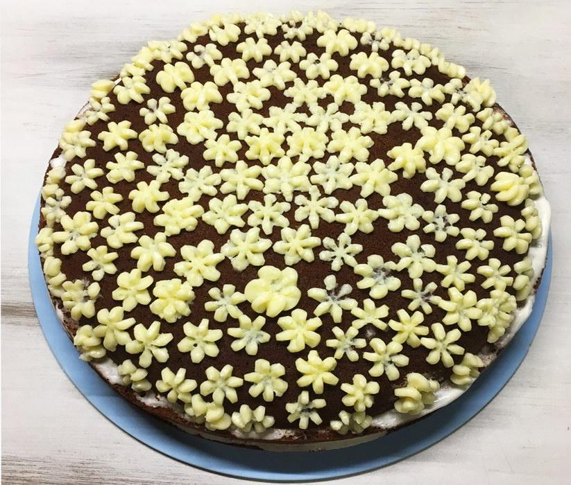 Домашний торт «Негр в пене»