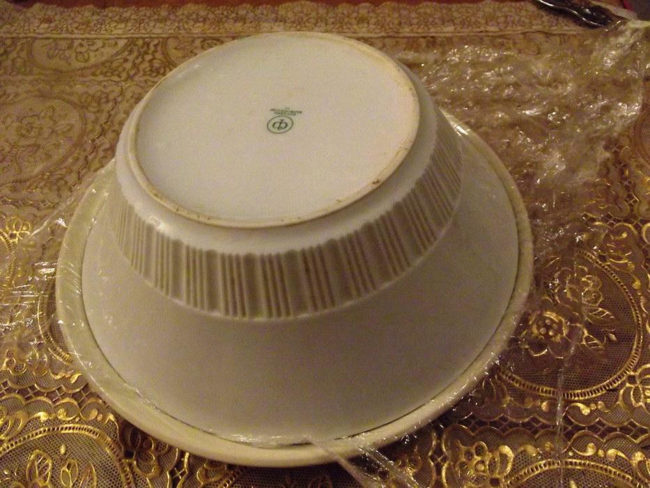 Накрываем тарелкой и переворачиваем