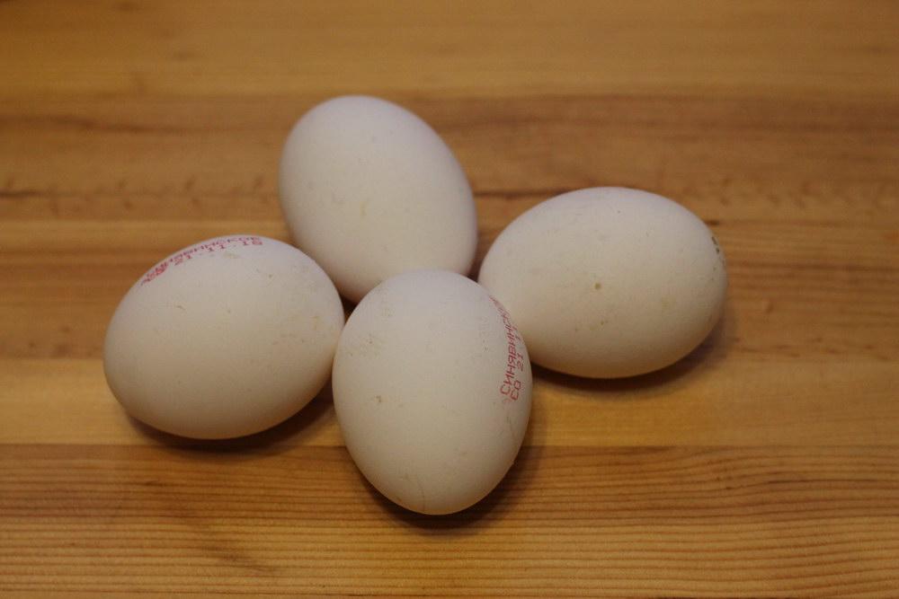 Берём яйца
