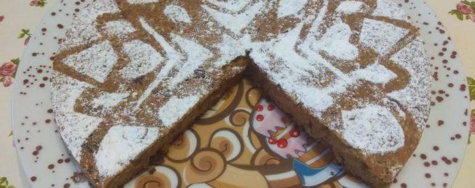 Морковно-банановый пирог – без яиц, сахара и муки