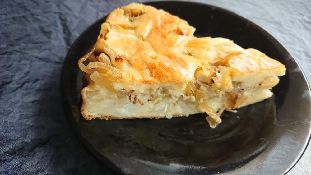 Закусочный пирог с рыбой
