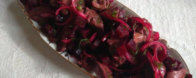 Салат «Рубиновый»