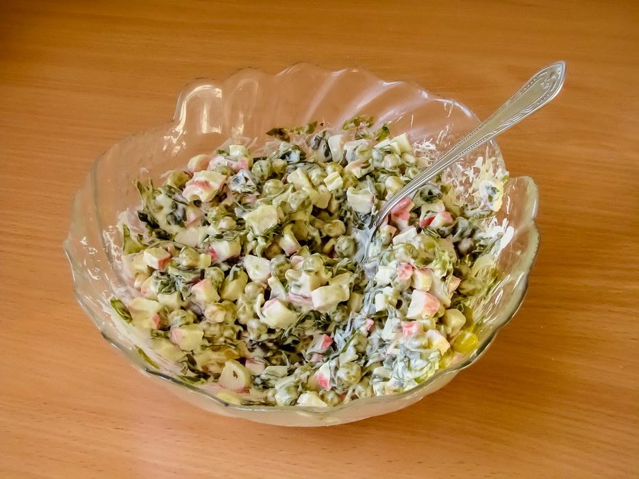 Салат с морским вкусом