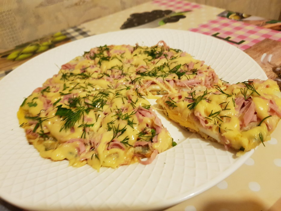 Новый вариант завтрака – мини-пицца за 10 минут