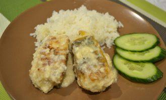 Готовлю филе судака по-новому, в сырно-горчичной шубе