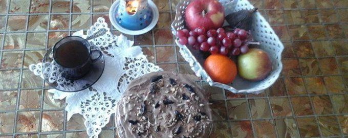 Торт с кофе «Вкусное лекарство»