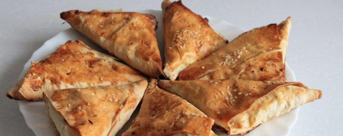 ПП-пирожки из лаваша