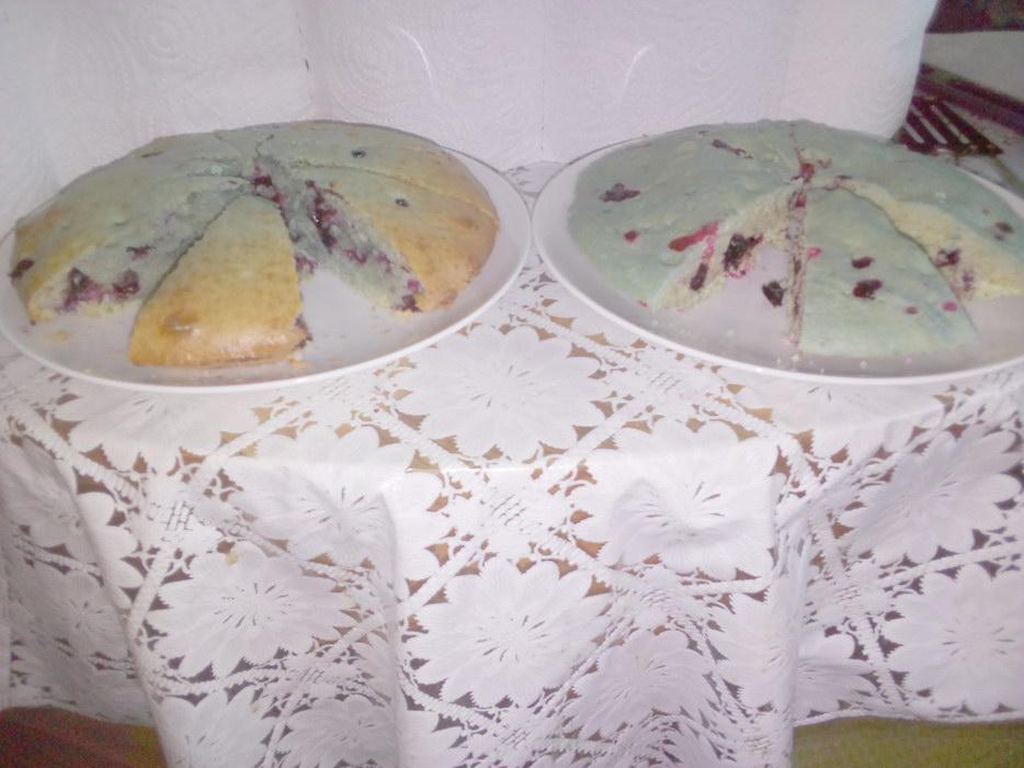 Универсальный пирог для духовки и микроволновки