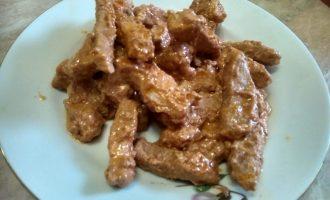 Мясо в красном вине или «Свиное раксо», пробую рецепт из газеты