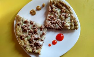 Пирог «Кабачковый шедевр» на сковороде