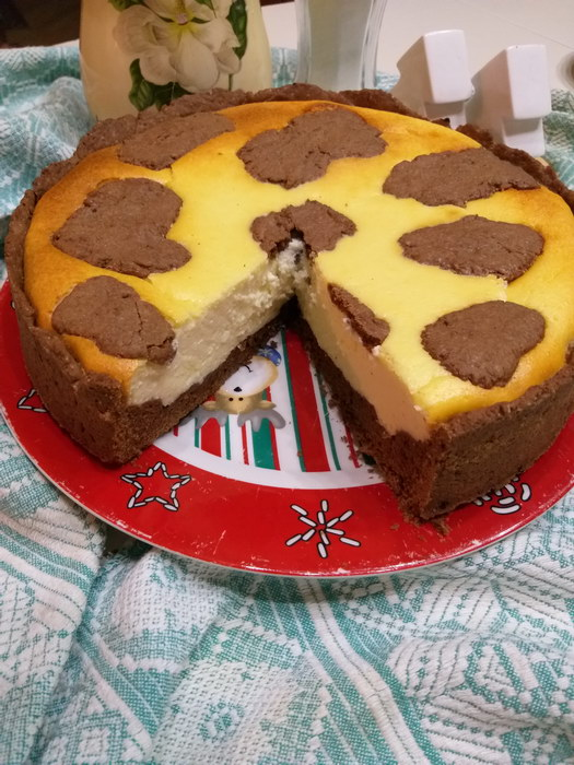 Пирог «Коровка-Буренка»