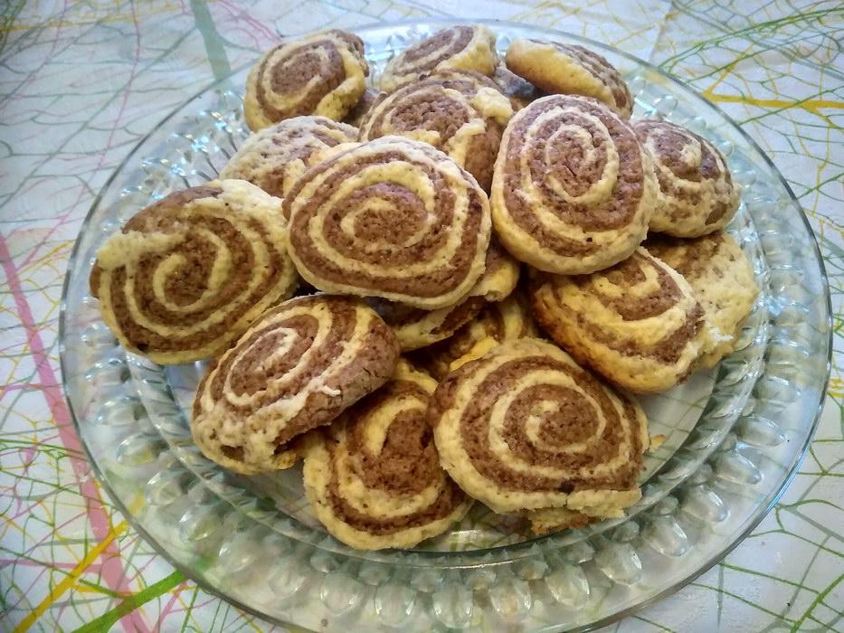 Песочное печенье «Серпантин»