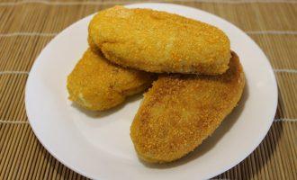 «Закуска с секретом» - рецепт картофельных палочек