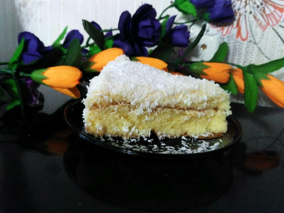 Торт «Снежок»