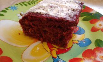 Шоколадно-свекольный пирог