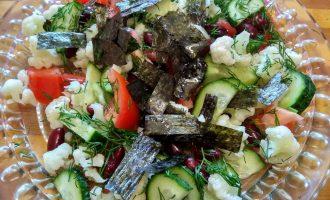 «Японский салат» - новый рецепт для будней и праздника