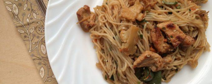 Как приготовить WOK со свининой и овощами