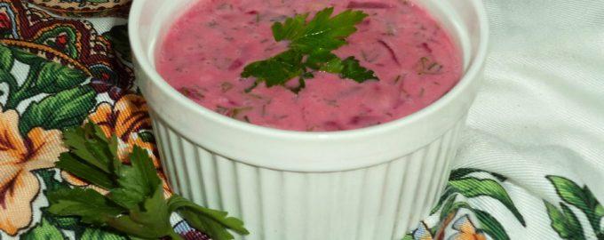 «Шалтибарщай» - упрощенный рецепт холодного литовского борща