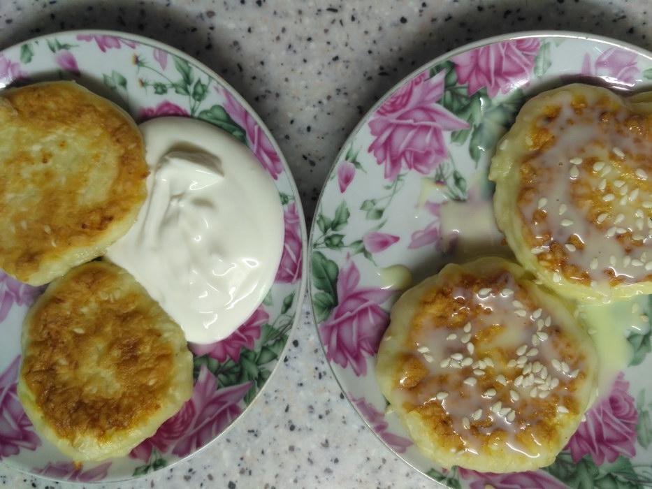 Сырники с кунжутом вместо манки – ещё вкуснее, ещё полезнее