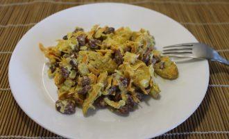 Теплый салат с фасолью — быстро, просто, вкусно