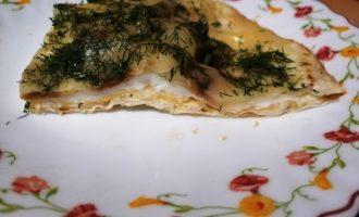 Новый рецепт: «Яичница в лаваше» - легко, быстренько и красиво