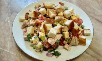 Салат «Баварский» - рецепт мужского салата