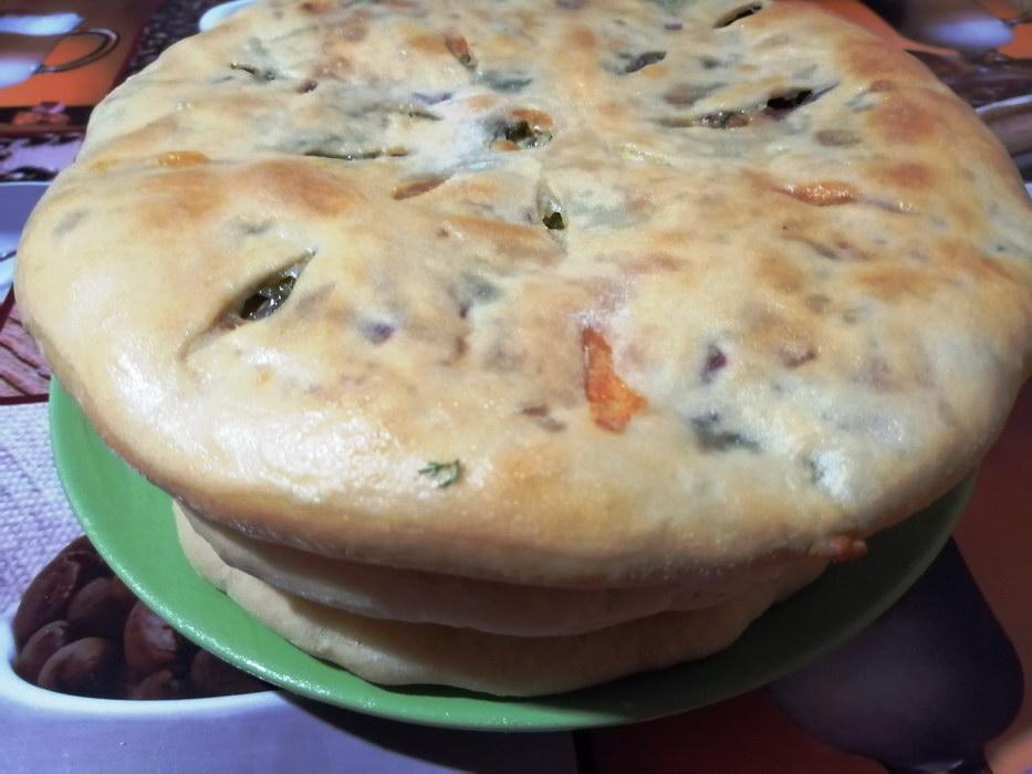 Осетинские пироги с 3 видами начинки