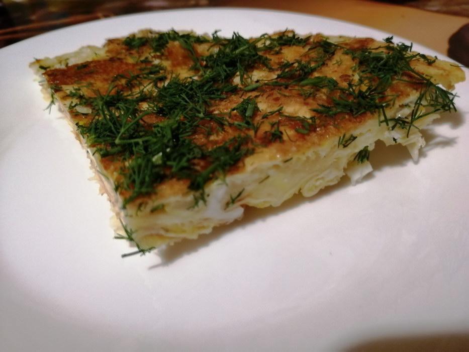«Мегаленивая ачма» или мгновенная сырная лепешка