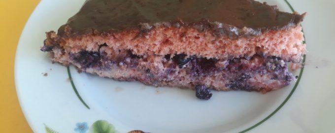 Торт «Лесная ягодка» из сухого киселя