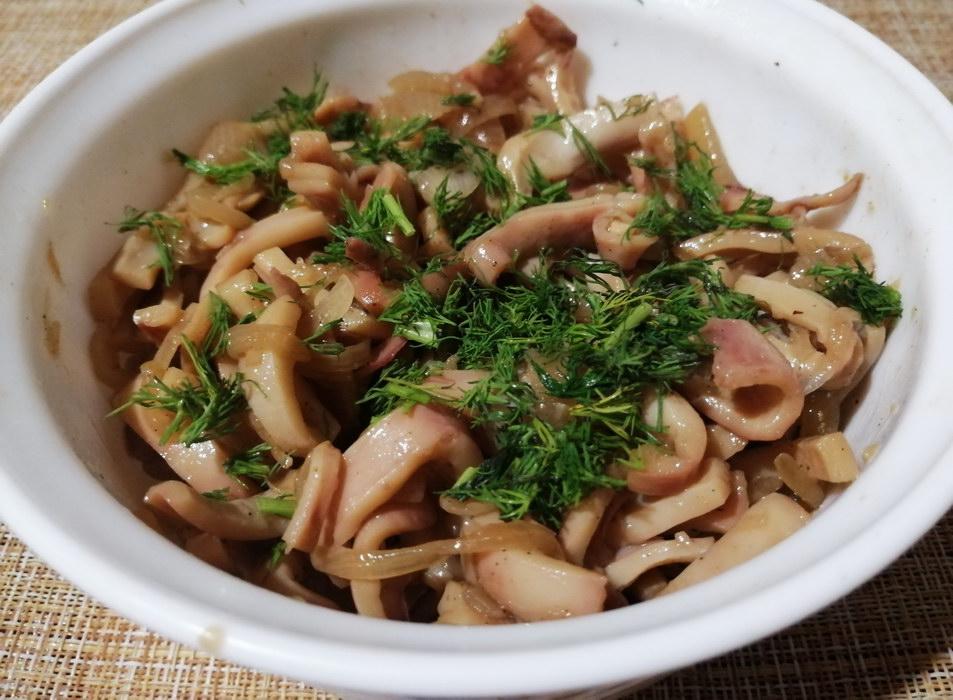 Кальмары по-китайски (сколько не приготовлю, моим домашним - всегда мало)