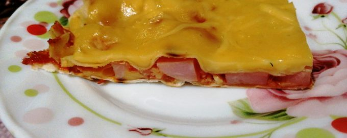 Новый потрясающий рецепт пиццы из лаваша, очень просто и вкусно