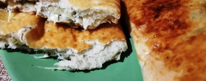Потрясающие чебуреки с сыром в духовке