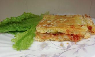 Домашний пирог «Чизбургер»