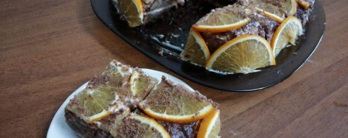 Рецепт торта «Тропики». Моим дико нравится, съедается за один присест и главное - всё просто