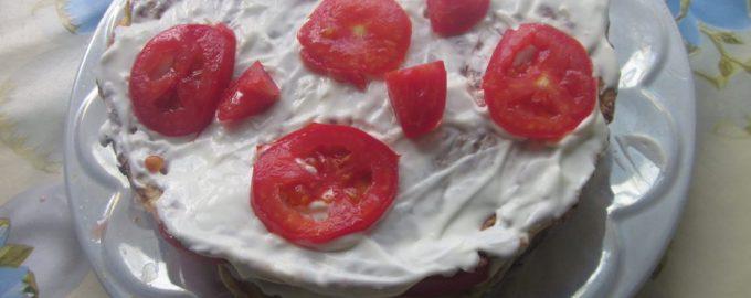 Из года в год готовлю «Кабачковый торт» к отъезду моих внучат