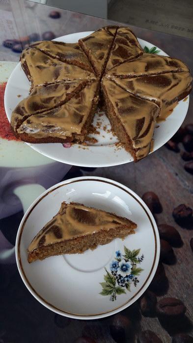Торт «Кофейный» (рецепт из советской Крестьянки)