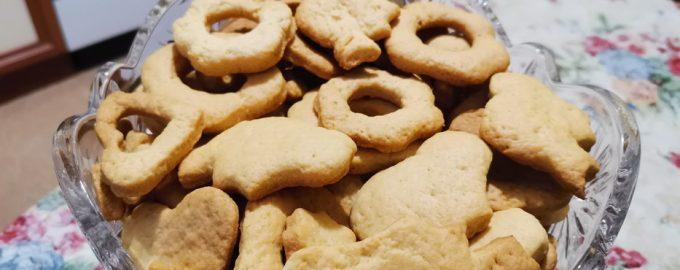 Хрустящее печенье из песочного теста