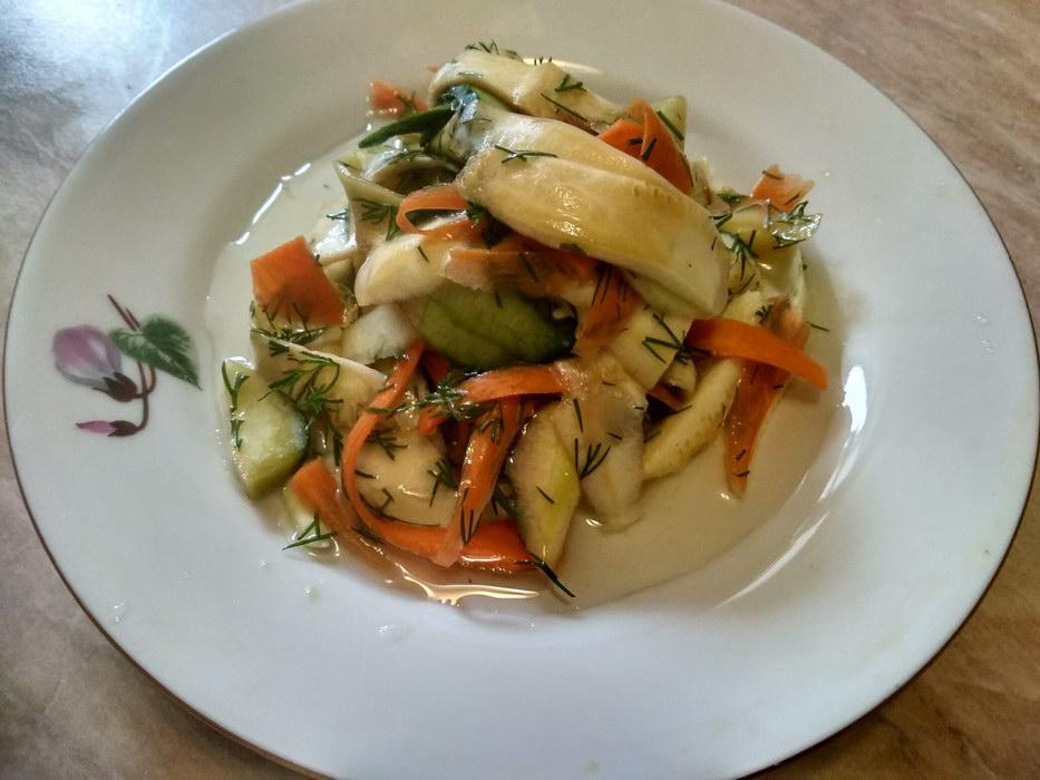 Малосольный салат «Свежесть» - утром готовишь, а вечером уже можно есть