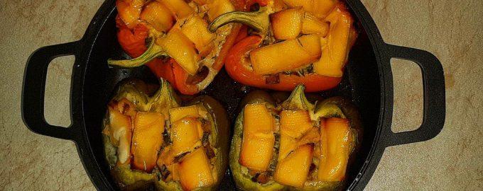 «Запечённые перцы по-новому» ещё проще и вкуснее